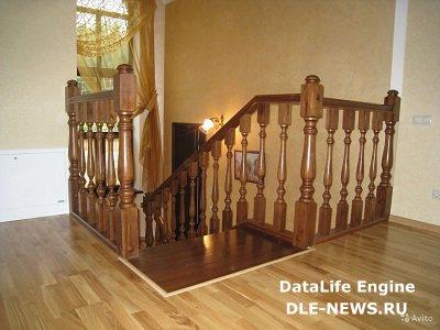 Деревянные лестницы – идеальный выбор для дачи