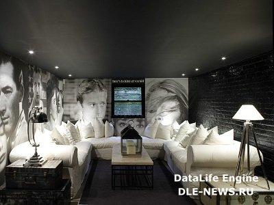 Черным-черно: черный потолок в интерьерном дизайне