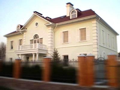 Штукатурка «Короед»: оригинальный дизайн фасада