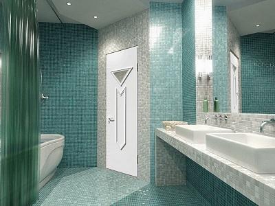 Какой должна быть дверь для ванной комнаты?