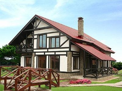 Баварский стиль: варианты внешней отделки домов