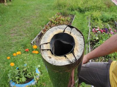 Правила монтажа фундамента под дымоход и газоотводящего канала