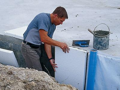 Гидроизоляция фундаментов под давлением воды