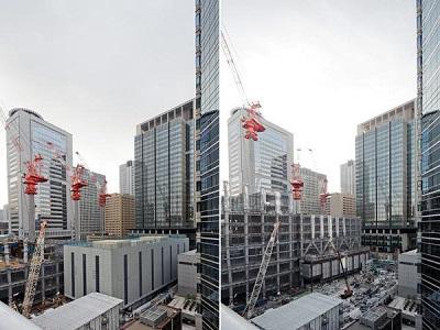 Японская технология демонтажа высотных зданий