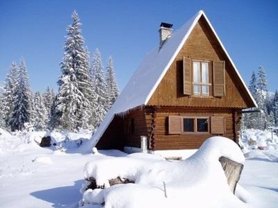 Уход за дачей в зимнее время