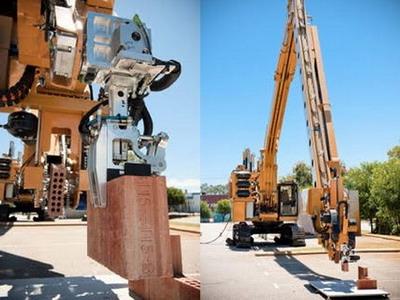 Австралийский робот-каменщик строит дом за два дня