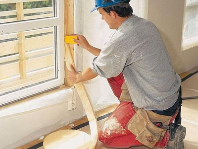 Методика утепления окна по шведской технологии