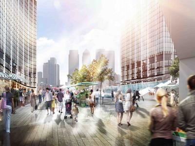 Лондон станет городом небоскрёбов, которые не имеют тени