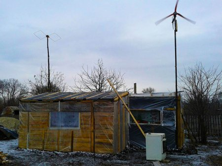Ветрогенератор для дачи