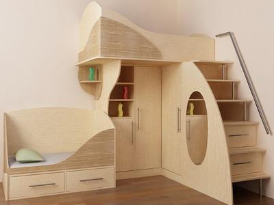 Практичный и удобный мягкий пол для детской