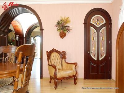 Основные тонкости изготовления арочной двери