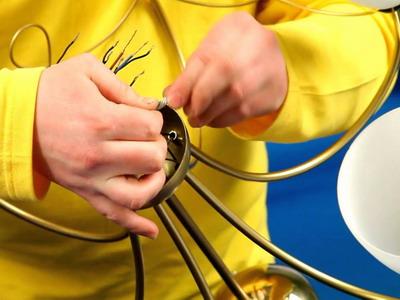 Теоретическая помощь в подключении пятирожковой люстры