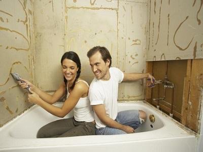 Ремонт в ванной комнате: советы начинающим