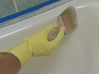 Как реставрировать эмалью старую ванну