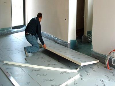 Методика утепления бетонной стяжки пенополистиролом