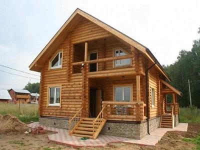 Строительство рубленого дома: выбор бревен