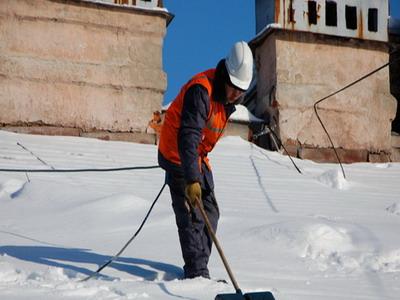 Уборка снега с крыш, очистка кровли от наледи, удаление сосулек