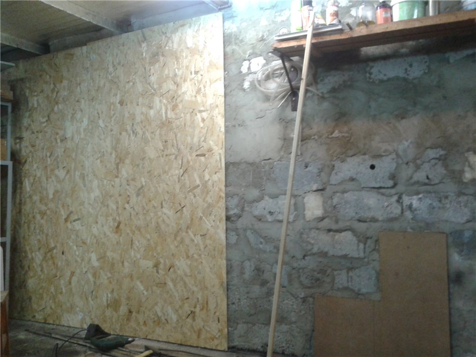 Стены гаража своими руками 41