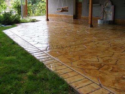 Создаем бетонную штамповку своими руками