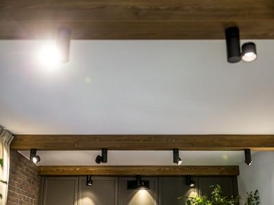 Как закрепить светильники в корпусе мебели
