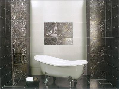 Советы по выбору керамической плитки для ванной комнаты