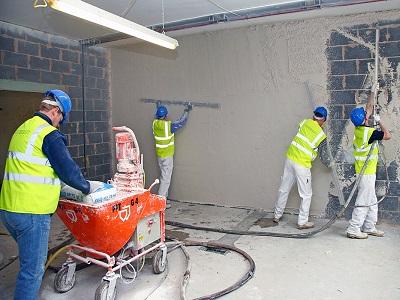 Машинная штукатурка — да прибудет с вами сила в оштукатуривании стен!