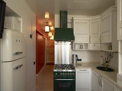 5 простых вариантов проекта кухни 6 кв.м.