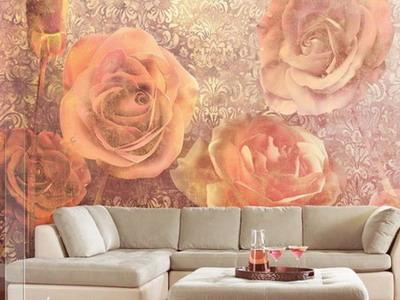 Фрески в интерьере: изысканная красота
