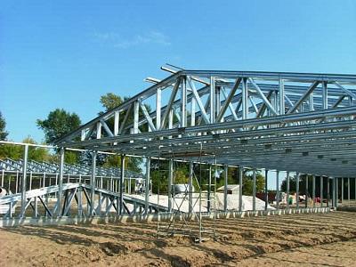 Одна из самых перспективных технологий строительства с использованием металлоконструкций
