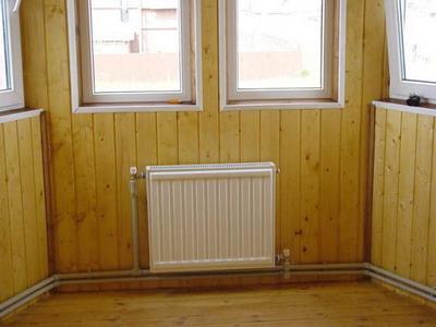Схема установки радиатора в частном доме