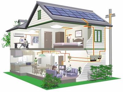 Схема прокладки электропроводки в частном доме