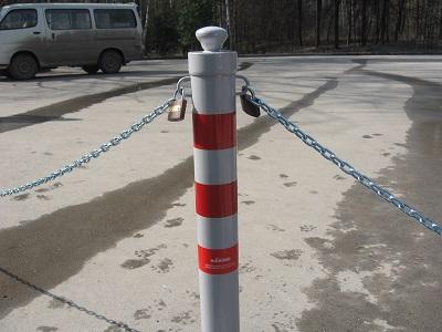 Парковочные столбики и ограждения