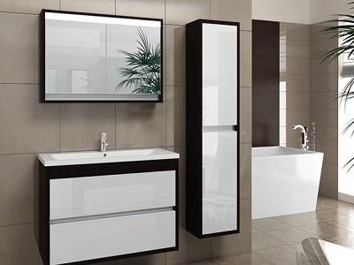 Шкафы-пеналы для ванной комнаты