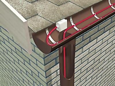 Виды кабеля для обогрева крыши