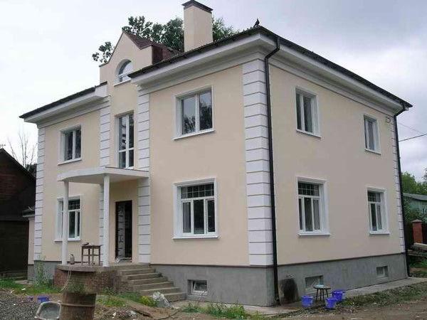 картинки фасады частных домов