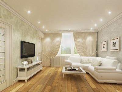 Точечные потолочные светильники в дизайне интерьера