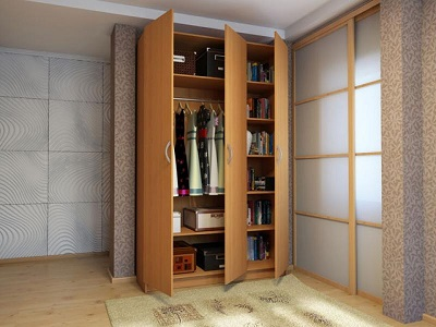 Шкафы открытые комбинированные: удобство и стиль
