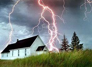 Защита зданий от молний