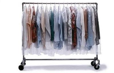 Полиэтиленовый мешок для одежды