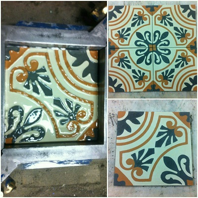 Цементная плитка ручной работы, от средних веков и до наших дней