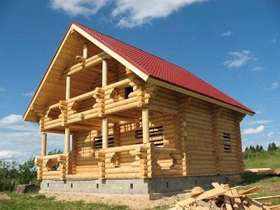 Строительство домов из оцилиндровки