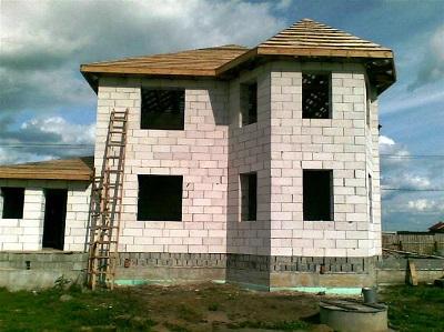 Строительство домов из поревита