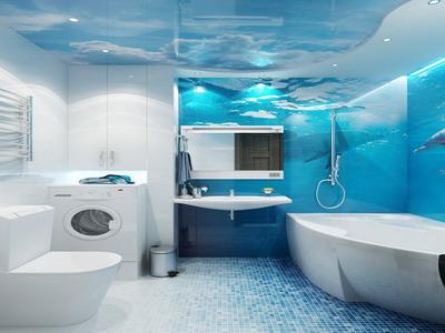 Ремонт ванной комнаты и ее дизайн