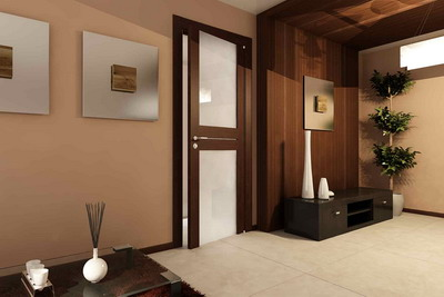 Межкомнатные двери в дизайне интерьеров
