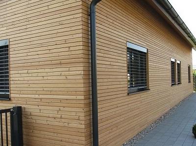 Планкен (фасадная доска) из лиственницы