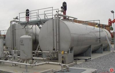 Горизонтальные резервуары для хранения нефтепродуктов