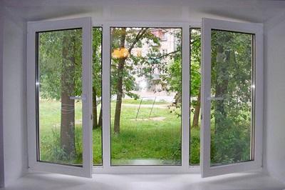 Пластиковые окна: строение и установка