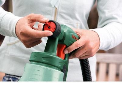 Краскопульты электрические: особенности выбора и применения