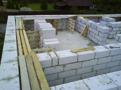 Газобетонные блоки в строительстве