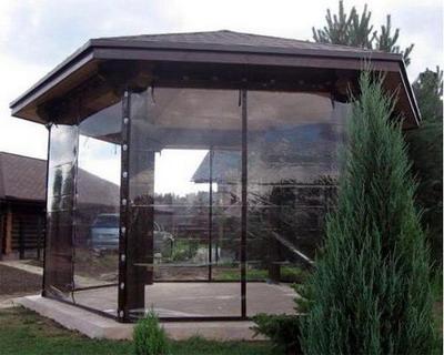 Мягкие окна для веранды: актуальность и выгода